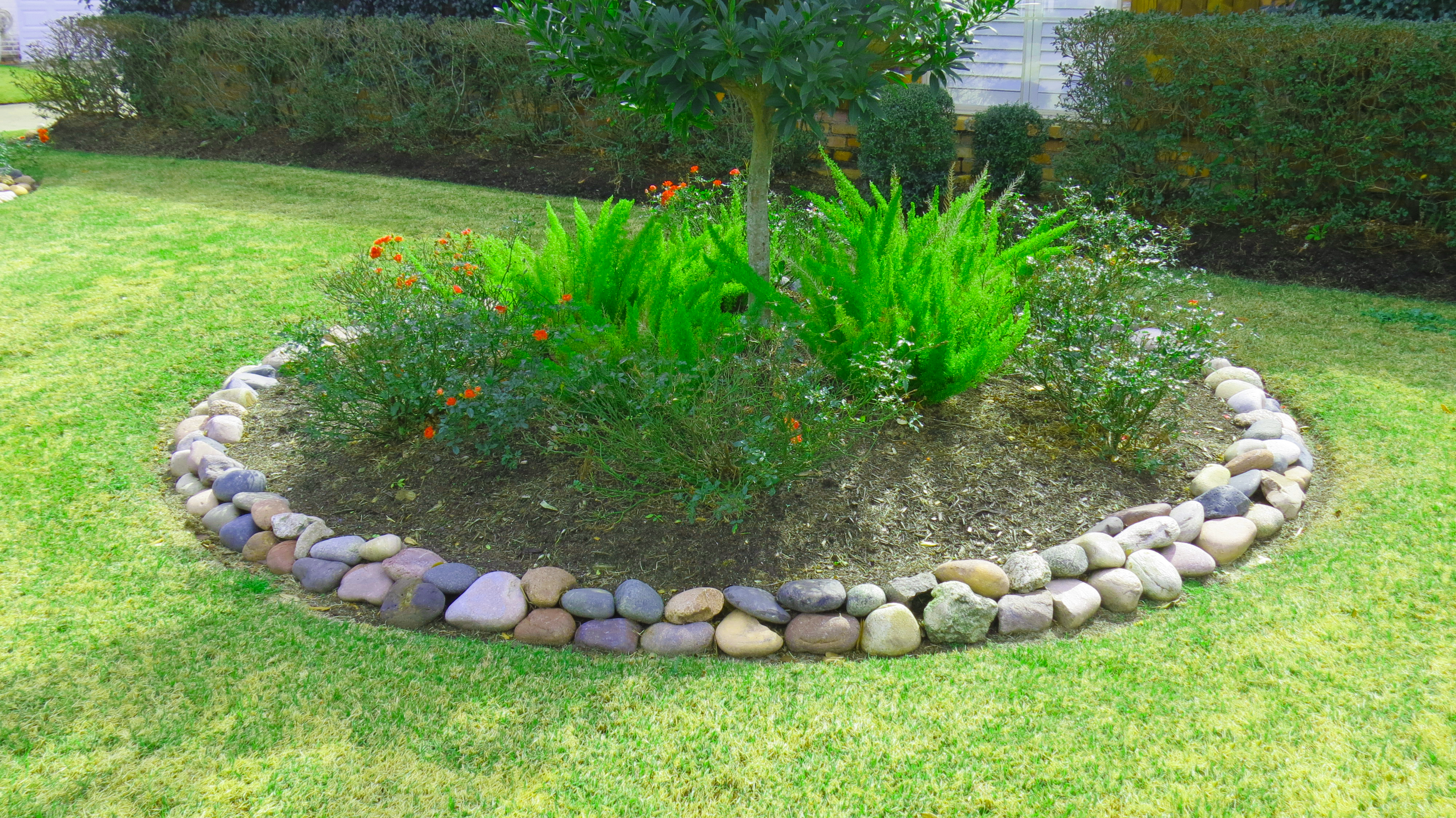 Flower Beds And Landscapes In Beaumont By Number One Lawn Service