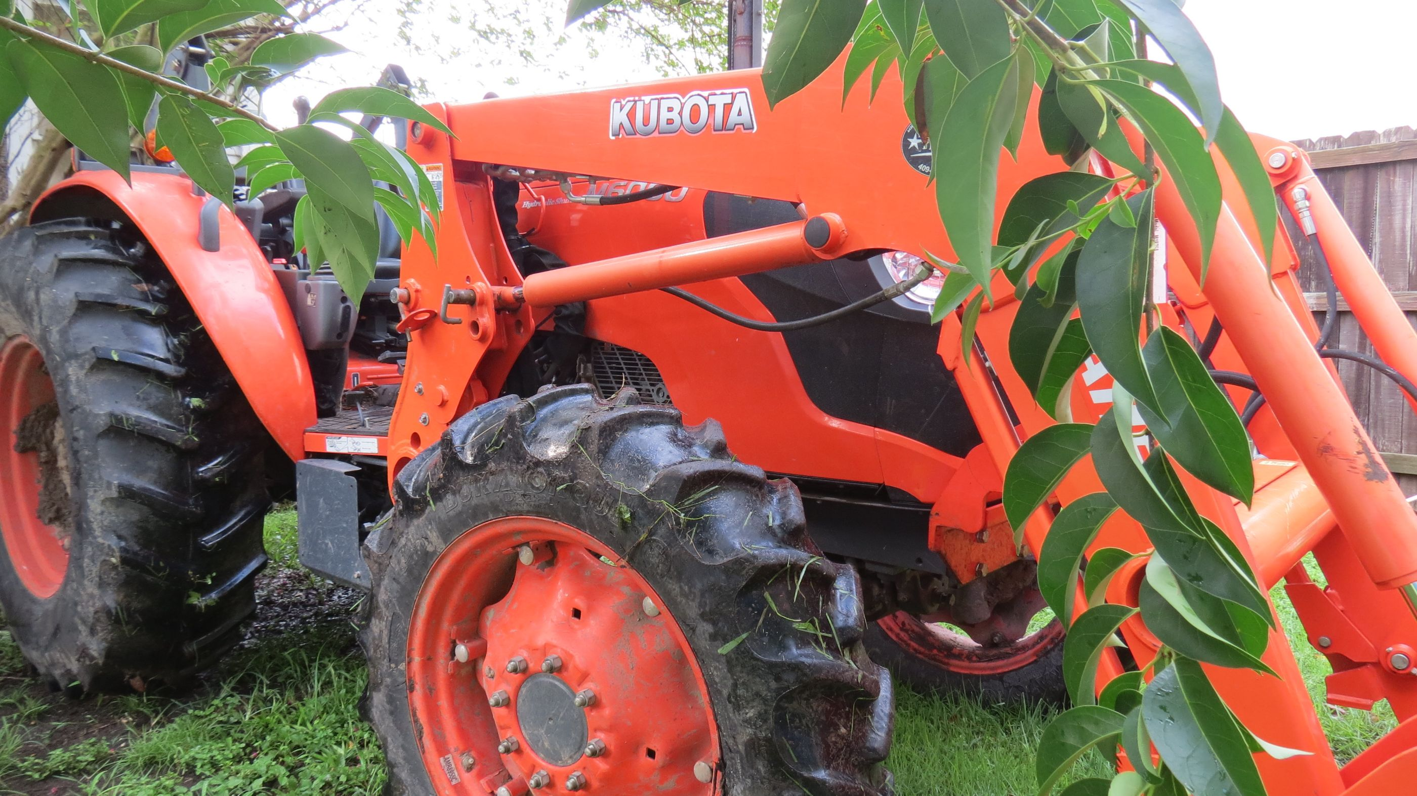Bushhog Dirt Work Tractor Services Number One Lawn Service